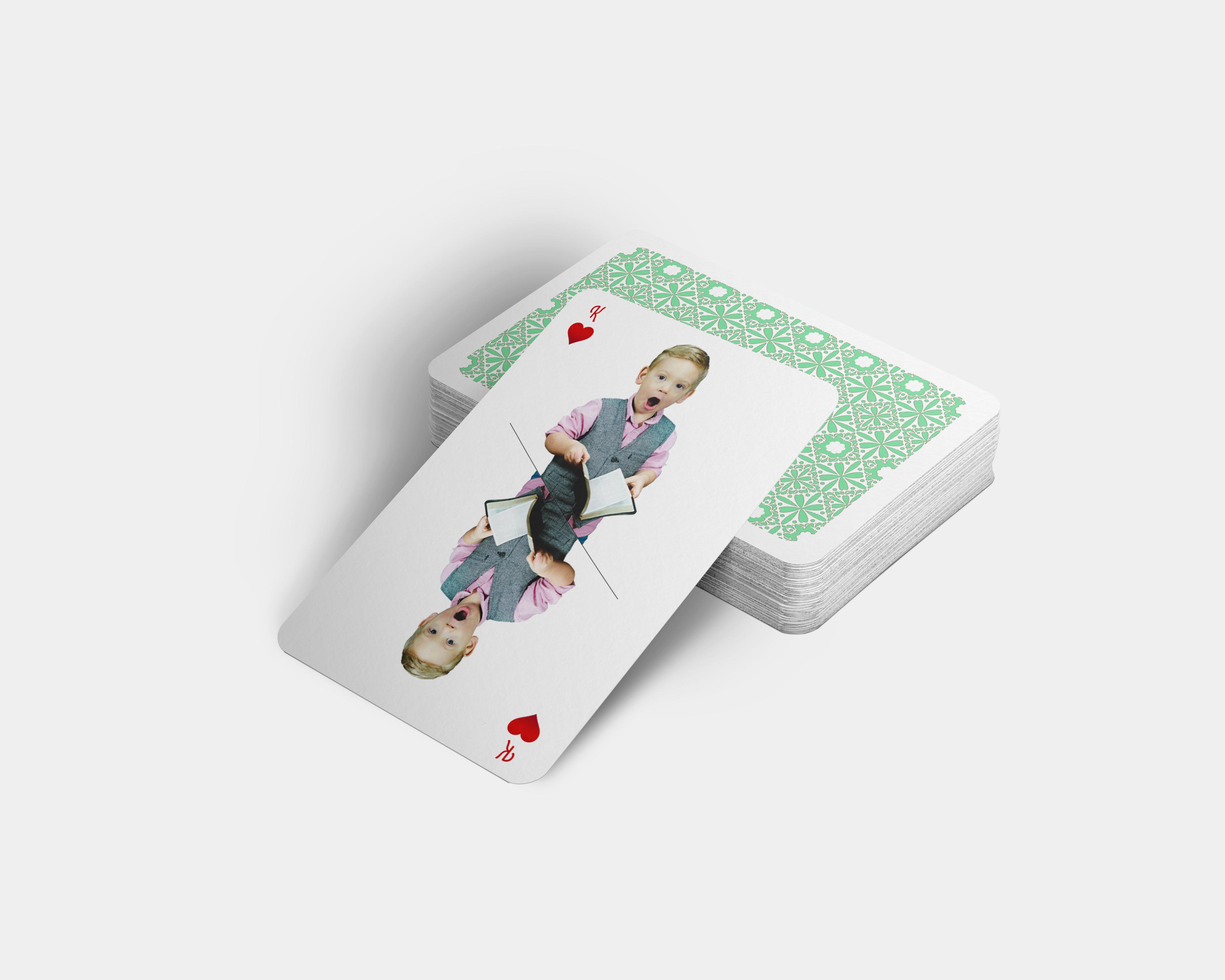 Voorbeeld speelkaarten