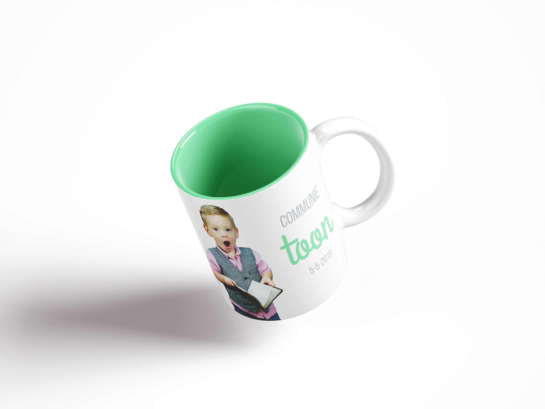 Voorbeeld tas koffiemok mok