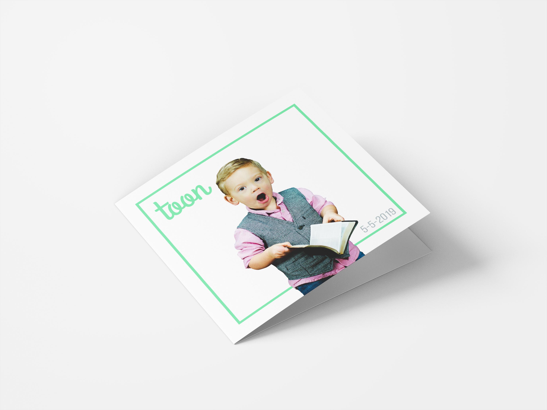 Voorbeeld bedankkaarten