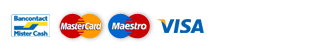 PrintConcept.nl Veilig betalen met Bancontact Visa Mastercard Maestro Paypal