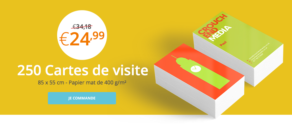Promotion Cartes De Visite
