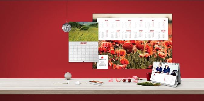 Nieuwe kalenders voor 2019