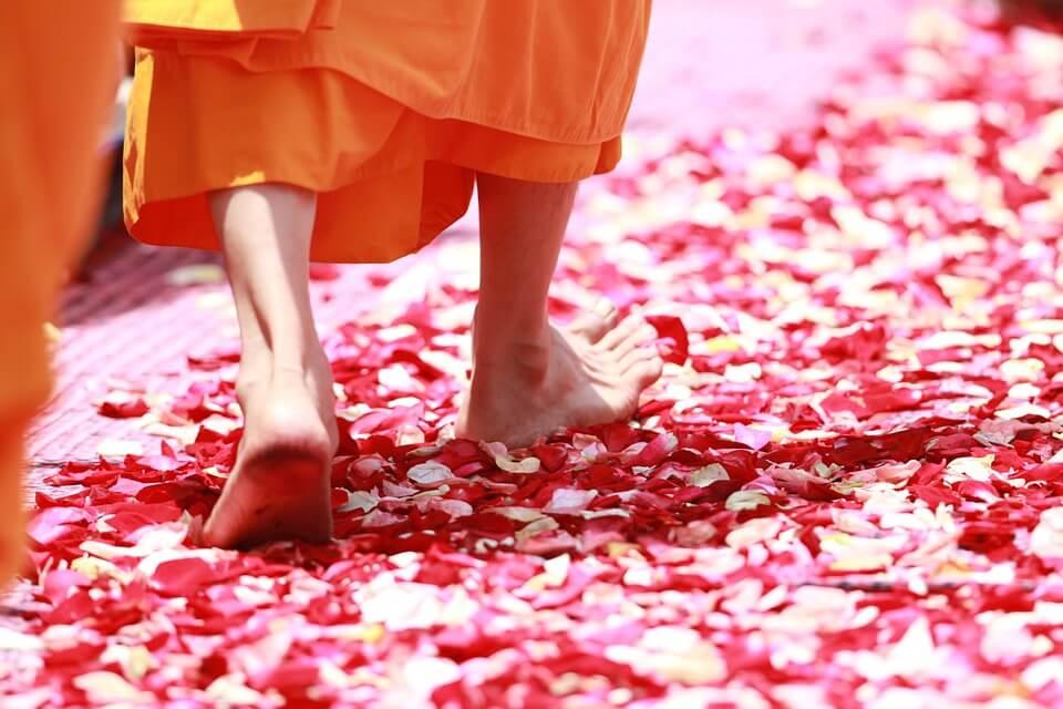 Devenir moine à Phra dhammakaya, Thaïlande.