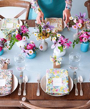 communie decoratie tafel