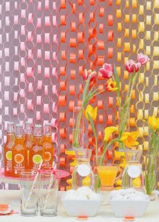 thema communiefeest lentefeest kleur kleurrijk