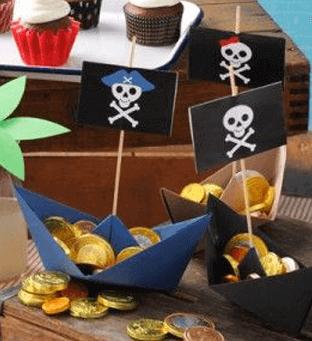 thema communiefeest lentefeest piraten