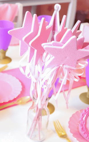 thema communiefeest lentefeest prinses