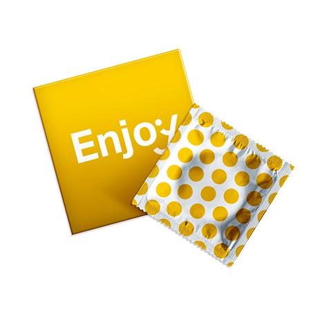 Condoomverpakkingen