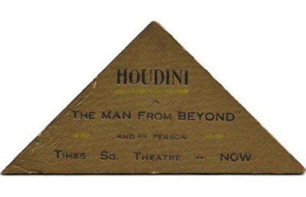 Harry Houdini, goochelaar en boeienkoning
